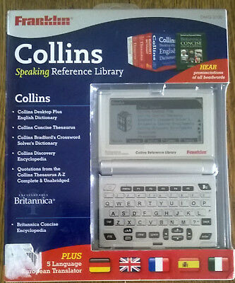 Collins Franklin Speaking Reference Library DMQ 2100