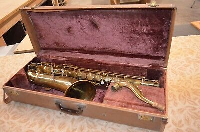 Conn Wonder Improved Tenor Sax (over 100 years old) for parts not working