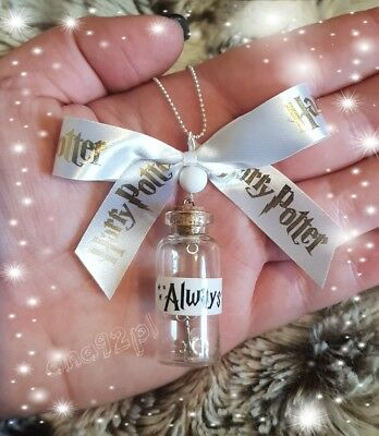 1PC Harry Potter Magic bottle  Necklace pendant Cosplay Props Gift valentines