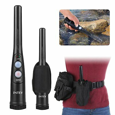 INTEY Handheld Metal Detector with Folding Shovel and Carry Bag