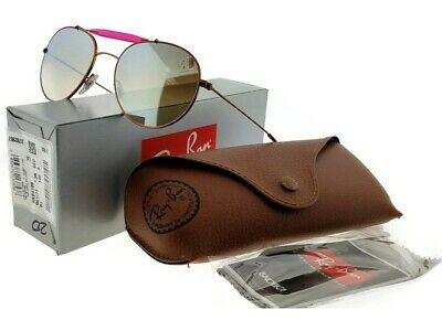 5099550073a4de RAY BAN NEW Sunglasses Bronze-Copper Silver Gradient Flash RB3540 ...