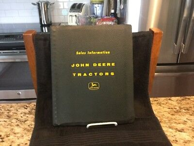 "Vintage 1960 Original John Deere Tractor Sales Manual""10 Series"" Tractors - MINT"