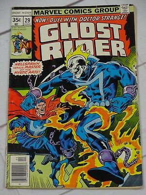 Ghost Rider #29 1977 Marvel Comics Bagged and Boarded - C3048