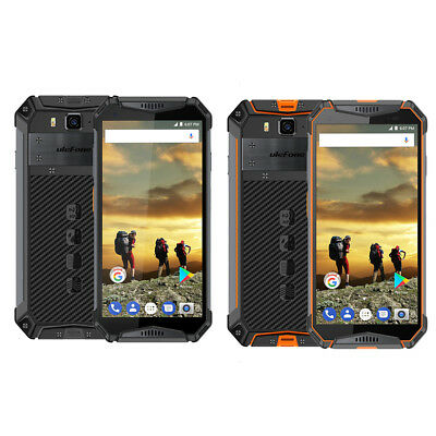 """Ulefone Armor 3 4GB+64GB Android 8.1 5.7"""" IP68 Rugged Android Smartphone Face ID"""