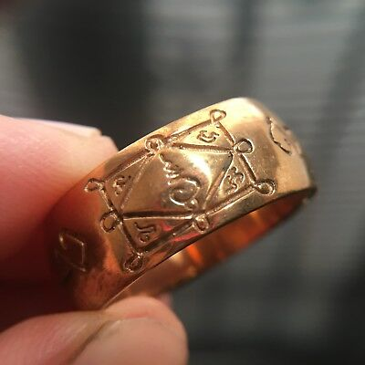 Beautiful Ring Lp Kauy Thai Amulet Love Luck Charm Rich Attract Protect Size 10