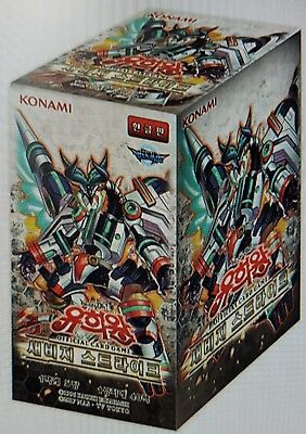 "Yu-Gi-Oh Card ""Savage Strike"" Booster box (40Packs) / Korean"