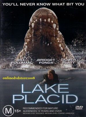 LAKE PLACID (Bill PULLMAN Bridget FONDA Oliver PLATT) HORROR Film DVD Region 4