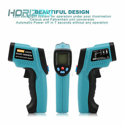 GM320/GM550/DT-8809CC Digital Infrared Thermometer IR Baby Body Surface Laser