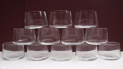 QANTAS brand new boxed set of 12 Marc Newson designed whisky glasses