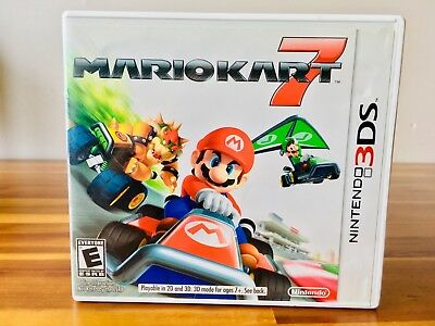 Mario Kart 7 for Nintendo 3DS American Version