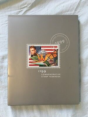 1999 USPS Commemorative Stamp Yearbook w/101 stamps