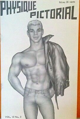 Physique Pictorial volume 12 no. 3 gay interest magazine