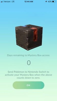 Pokemon Go Meltan Mystery Box Supply Cheapest Offer (1 box)