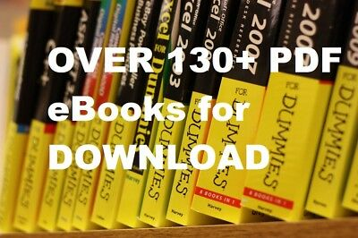 Over 130 + For Dummies Series PDF eBooks For Digital Download, Great Value !