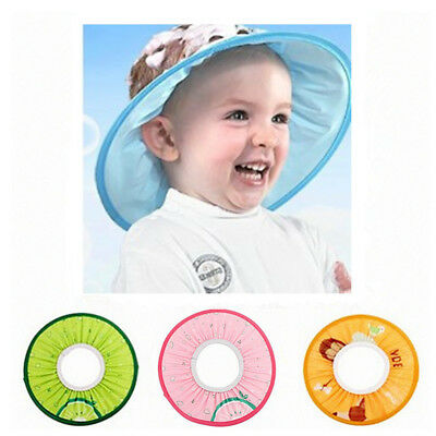 Baby Shower Cap Cute Prevent Water Into Ear for Child Kid Visor Caps Bath