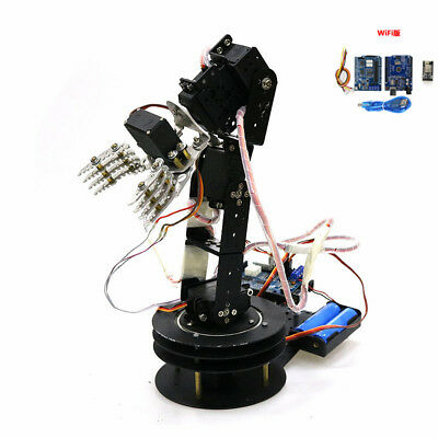 WIFI Control 5DOF Full Metal Robotic Arm Controller Wireless Handle