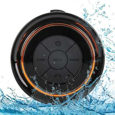Bluetooth Shower Speakers FM Radio & Suction Cup, Pairs Easily - Phones, Tablets