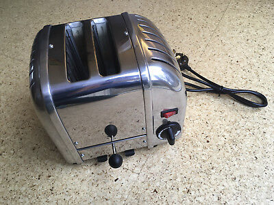 Dualit 2 slice toaster in stainless steel