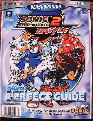 SONIC ADVANCE & ADVENTURE 2 Battle NEW Official PERFECT GUIDE Versus Books 37