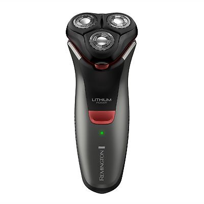 Remington R4000 Series Electric Rotary Shaver, Fully Washable, Black/Red, PR1...