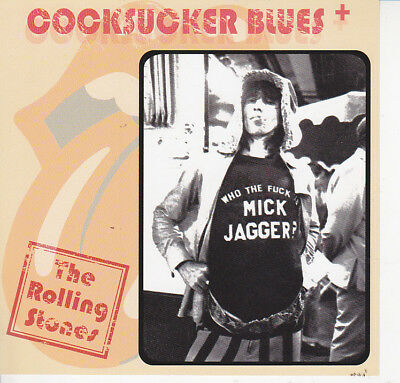 THE ROLLING STONES COCKSUCKER BLUES+ Press CD *F/S