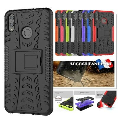 Etui Coque housse Antichocs Shockproof Heavy Duty Case cover Huawei Honor 8C