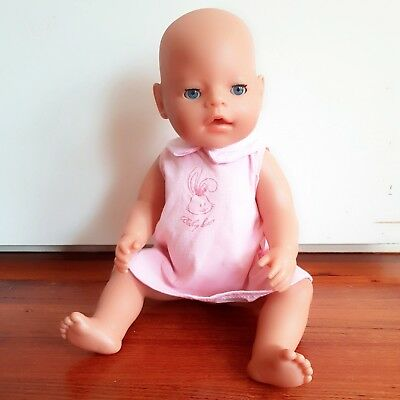 Zapf Creations Baby Born Doll MAGIC EYES Girl In Its Original Dress