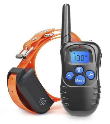 330 Yards Pet Dog Training Shock Collar Remote Waterproof Rechargeable Vibration