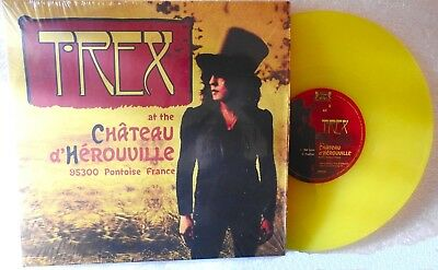 """Marc Bolan & T.rex : Chateau D' Herouville - Limited Edition 10"""" Yellow Vinyl"""