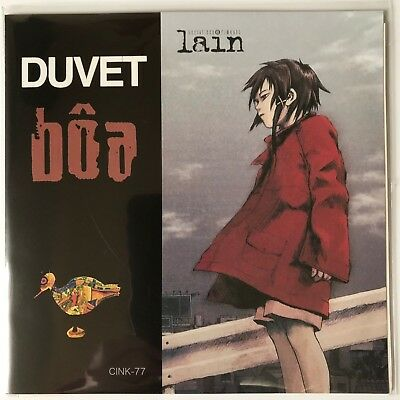 serial experiments lain Boa duvet ep Limited Edition Japan anime Limited Vinyl