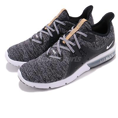 separation shoes 8f303 b3861 Nike Air Max Sequent 3 III Black White Grey Men Running Shoes Sneaker  921694-011