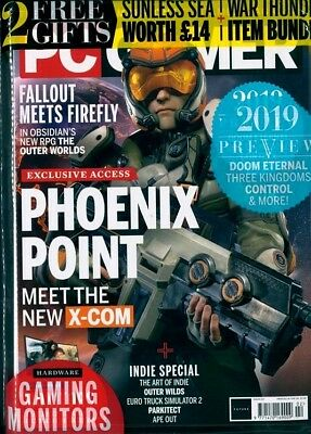 Pc Gamer Magazine #327 February 2019 ~ New Sealed ~
