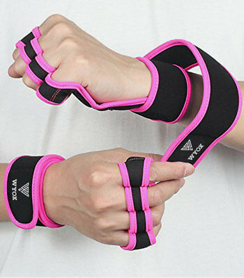 Weight Lifting WOD Gym Crossfit Training Strap Exercise Workout Gloves Men Women
