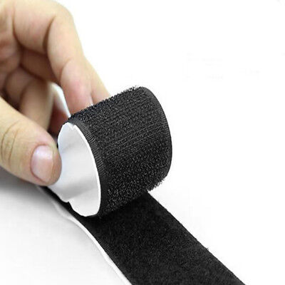 2 in1 Self Adhesive Tape Hook and Loop Fastener Extra Sticky Back 1m*20 mm