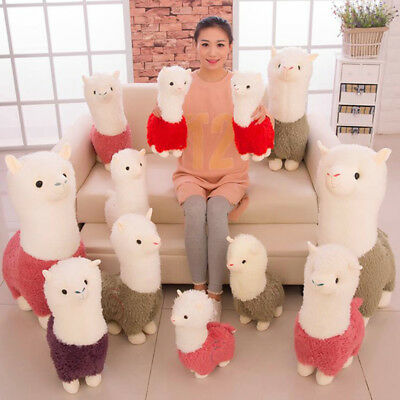 Kawaii Alpaca Plush Doll Stuffed Animal Toy Funny Christmas Doll Gift Toy