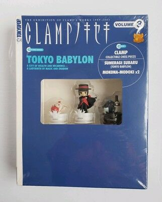 New Sealed ~ Tokyo Babylon Clamp Vol 3 Book With Collectible Chess Pieces
