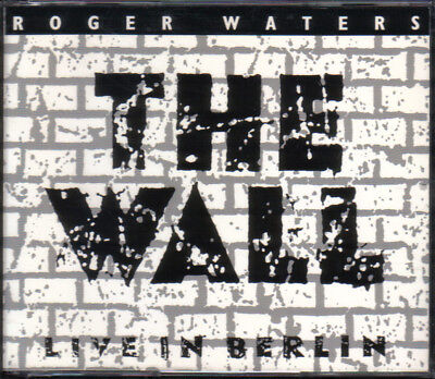 2-CD-Fatbox-Roger Waters/The Wall/ Live in Berlin 1990 (Pink Floyd)