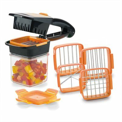 Quick Stainless Steel Vegetable Dicer Chopper Multi-Functional  5 in 1