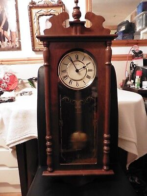 Hermle Pendulum Wall Clock with Westminster Chime 73CM Height FREE UK POSTAGE