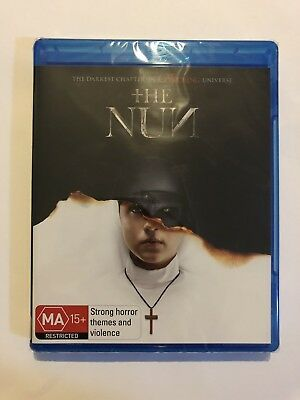 The Nun (2018) Blu Ray Brand New & Sealed Rated MA15+ Region B Movie 🍿