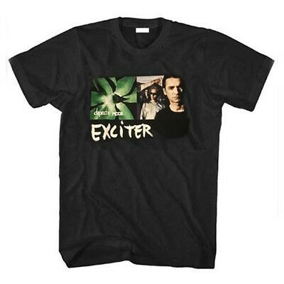 Depeche Mode Exciter Musica Tshirt, Nero, 100% Cotton, M, Electronic Fascia