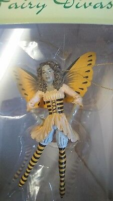 Amy Brown's Fairy Diva Sammelfigur Diva-Bumbie Bee  Neu