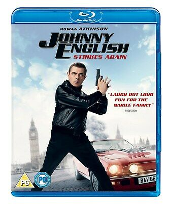 Johnny English Strikes Again (with Digital Download) [Blu-ray]