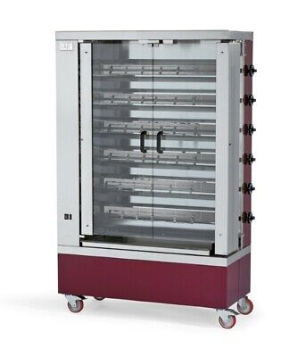 Gas Chicken Grill 1100x480x1750 mm, from Stainless Steel