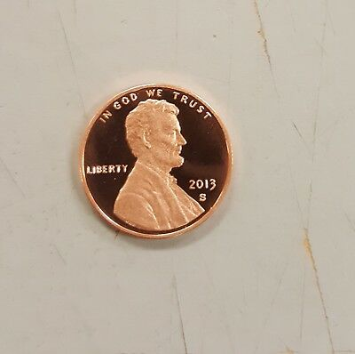 2013S Proof Penny Roll