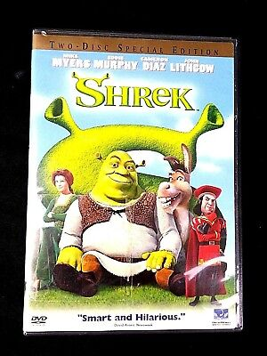 SHREK 2001 Two 2 Disc Set Special Edition DVD