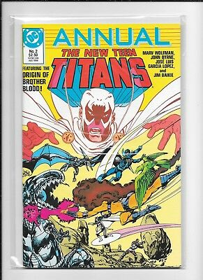 Teen Titans Annual #2 (6.5) Dc Brother Blood