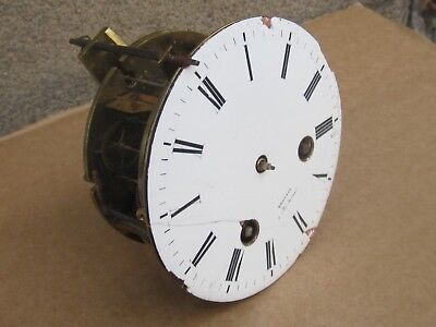 ANTIQUE FRENCH Bronze MANTEL CLOCK Movement  JAPY FRERES / BARBOT -TO RESTORE