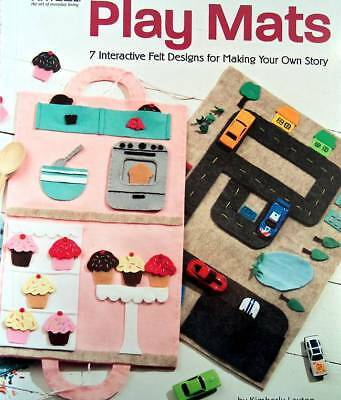 Play Mats Using Felt Designs For Making A Story For Children  No Sewing