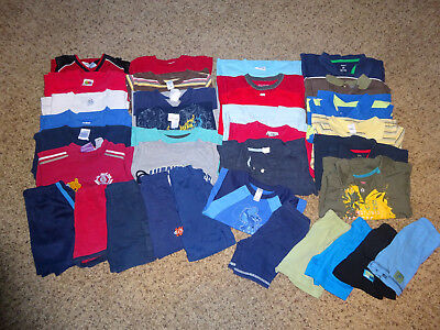Huge 35 Piece Lot 2T BOYS CLOTHES Spring Summer Outfits Brand Names